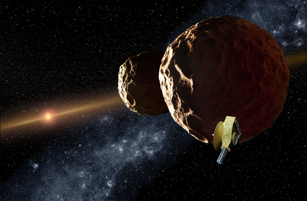 NASA's New Horizons Rings In 2019 With The Most Distant Flyby In Space History
