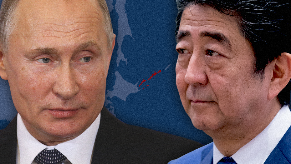 Japan has a modest goal for the new year—convince Russia to give up territory