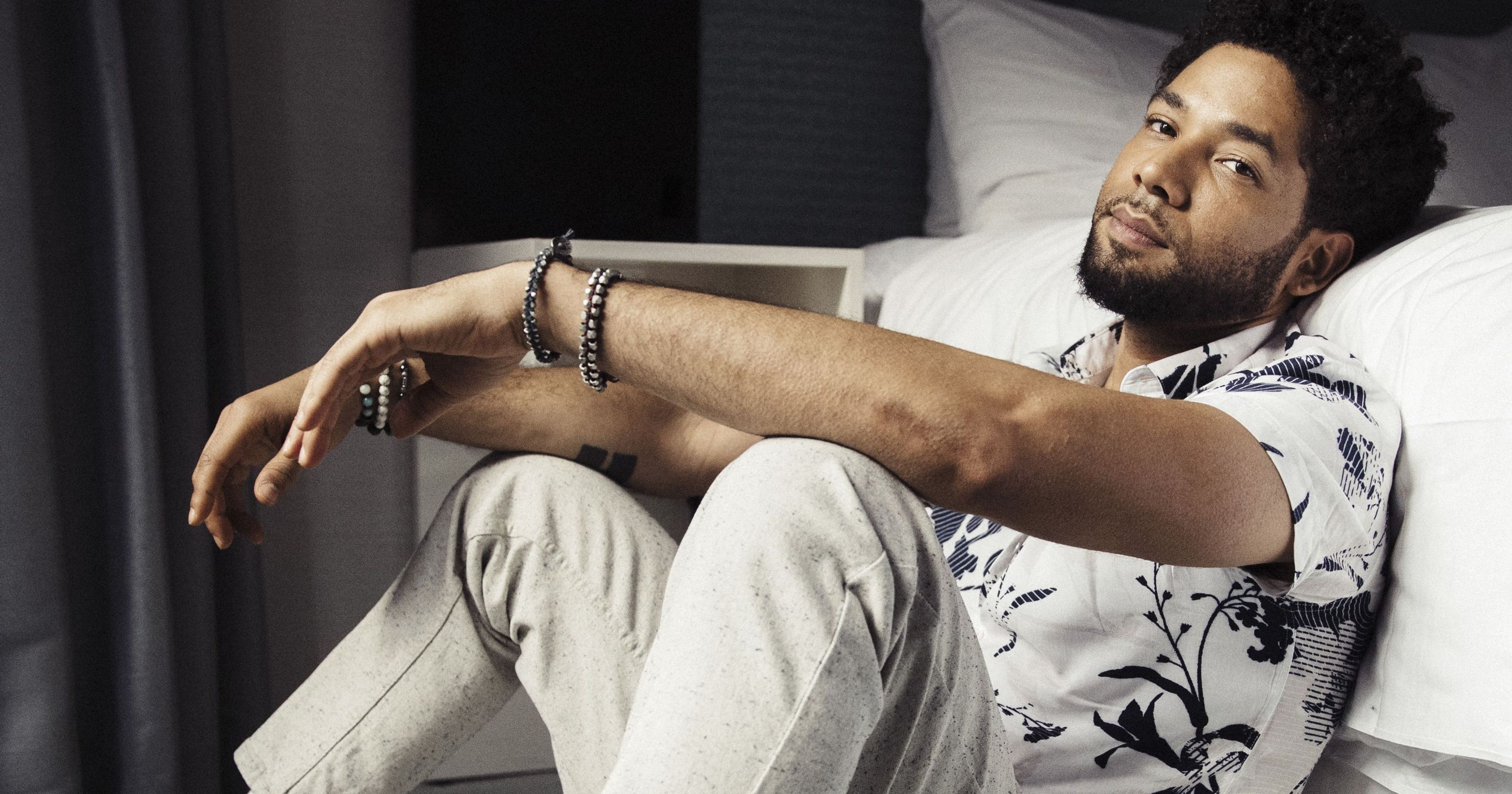 Jussie Smollett says he's OK after assault: 'My body is solid yet my spirit is more grounded'