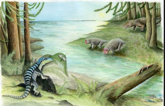 Iguana-sized cousin of the dinosaur found in Antarctica