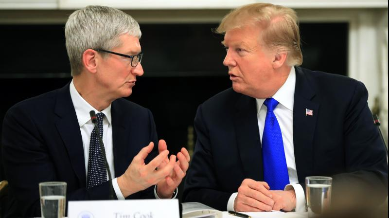After Trump gaffe, Apple CEO Tim Cook changes Twitter name to 'Tim Apple'