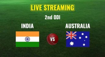 India versus Australia second ODI Live Streaming: When and Where to Watch, Live Coverage on Television and Online