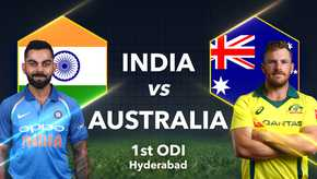 India vs Australia 1st ODI Live Streaming, Live Score: When and Where to Watch 1st ODI Online Live TV