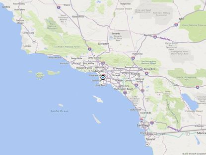 An Earthquake in Los Angeles, Southern California Strike on Wednesday Night