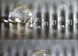 Utilizing waves to move droplets