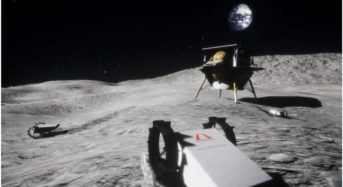This minor wanderer will test how well small mobile robots can survive on the Moon