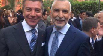 Ambassador of Antigua and Barbuda Dario Item attends the reception of the Festa della Repubblica Italiana in Madrid