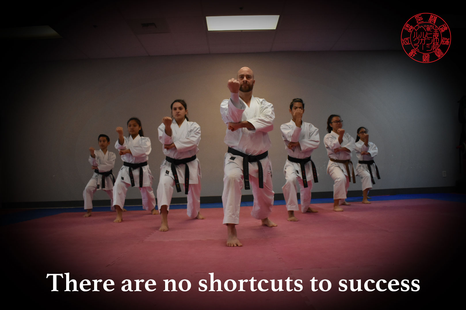 There are no shortcuts to success