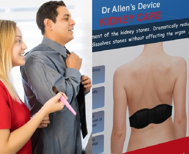 Kidney Stones Therapy with Wearable Device is Effective and Safe