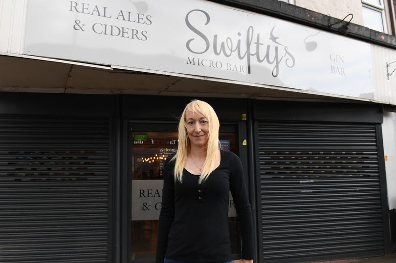 Pub Lady Retaliates With Reasons When council orders removal of 'intimidating' £10k security shutters