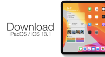 iPadOS and iOS 13.1 presently accessible to download