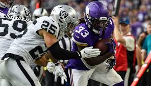 Vikings running game cooks the Raiders completely through in 34-14 win