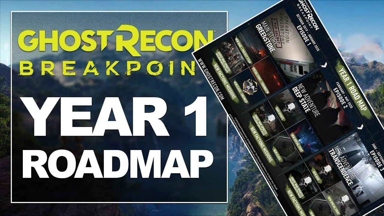 A One-Year Road Map Was Just Put Out By Ubisoft