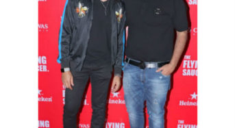 The Launch of Flying Saucer was hosted by Zulfi Syed and Shawar Ali