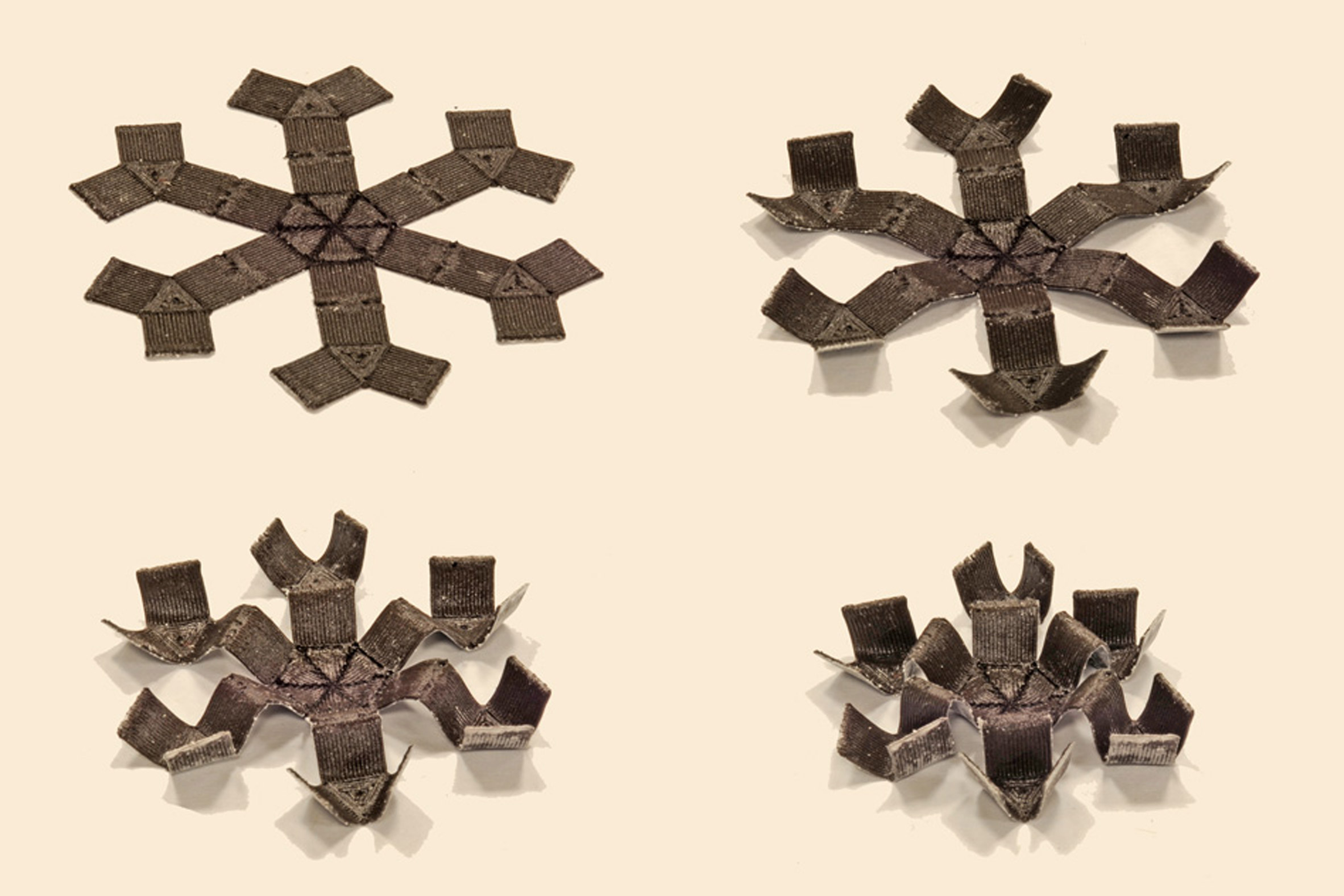 Tiny magnetic particles empower new material to twist, bend, and grab