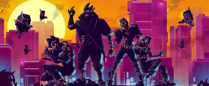 The Futuristic Action-Platformer Black Future '88 Is Now Available On Steam