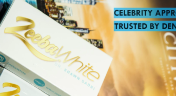 Teeth whitening brand started by Celebrity Dentist!