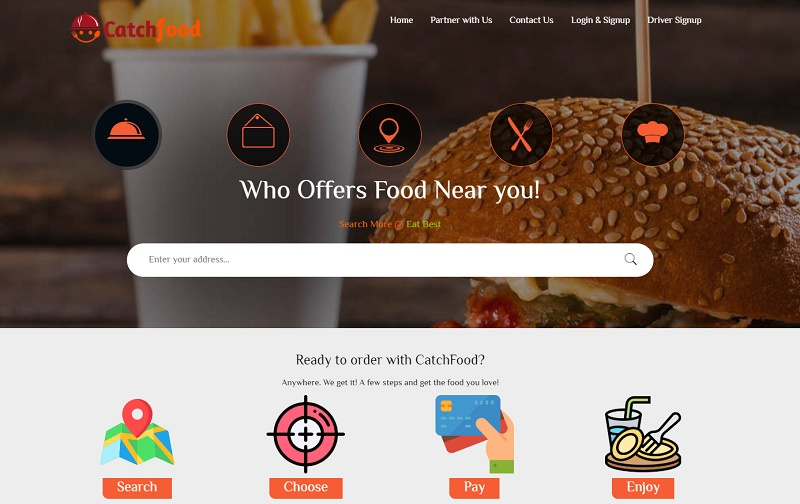 Catchfood delivers a facility to request online in Lebanon with the latest app