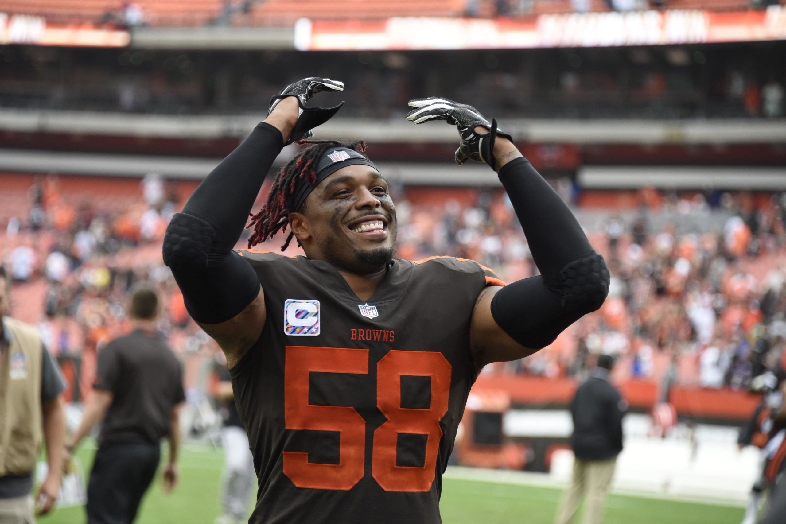 Cleveland Browns release linebacker Christian Kirksey after six seasons