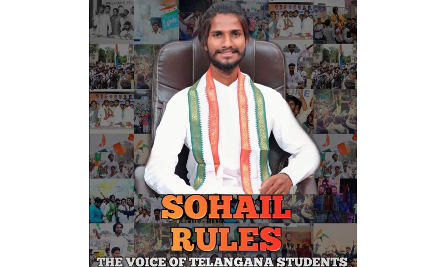 Sohail Rules – A Galli leader to Telangana Youth-Icon