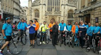 Fortel Owner is Organizing Bike Ride from Bham to Windsor Castle to Support Prince Trust