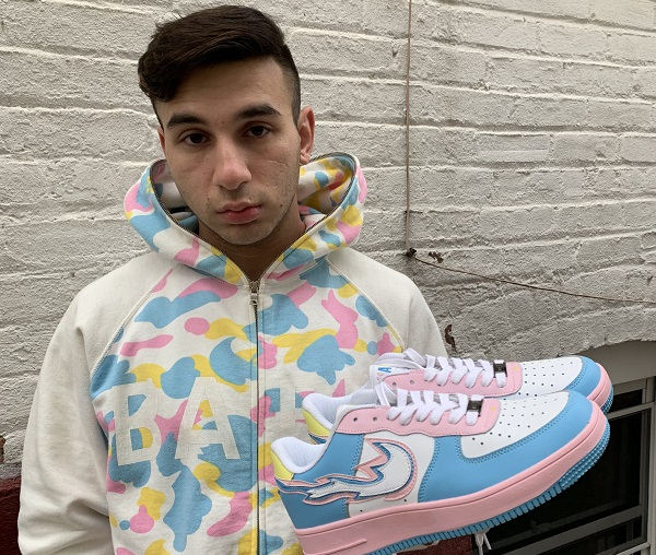 "Robert Naftali aka Yungnaf to launch his brand new of Sneakers ""NAF"""