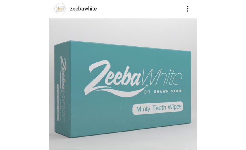 Zeeba White – Line of dental products for All about your First Impression
