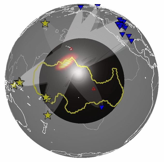 Researchers find unexpectedly wide structures near the Earth's core
