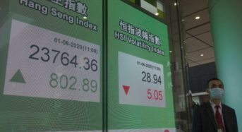 Asian markets ascend on 'murmur of help' over Trump's reaction to China