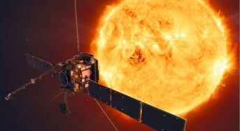 The 'solar orbiter' spacecraft makes the first flyby of the sun