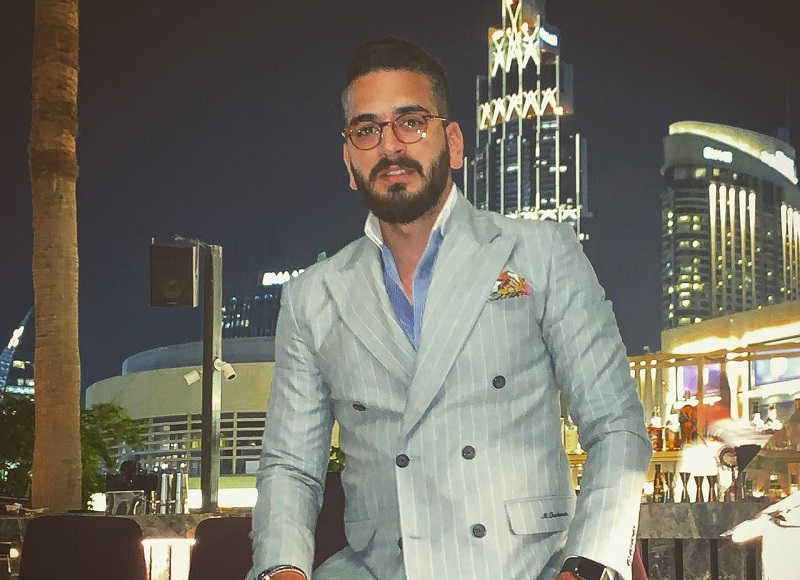 Dubai's Fashion Blogger Mert Turkmen Taking Over The Internet