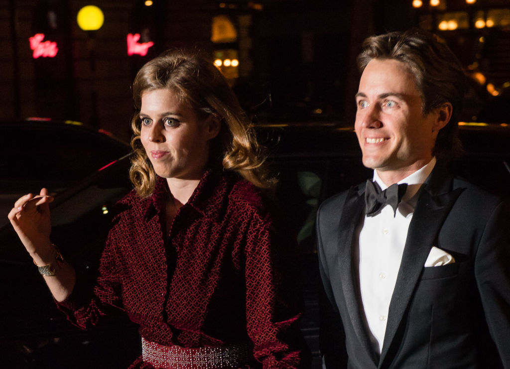 Princess Beatrice weds in private service at Windsor