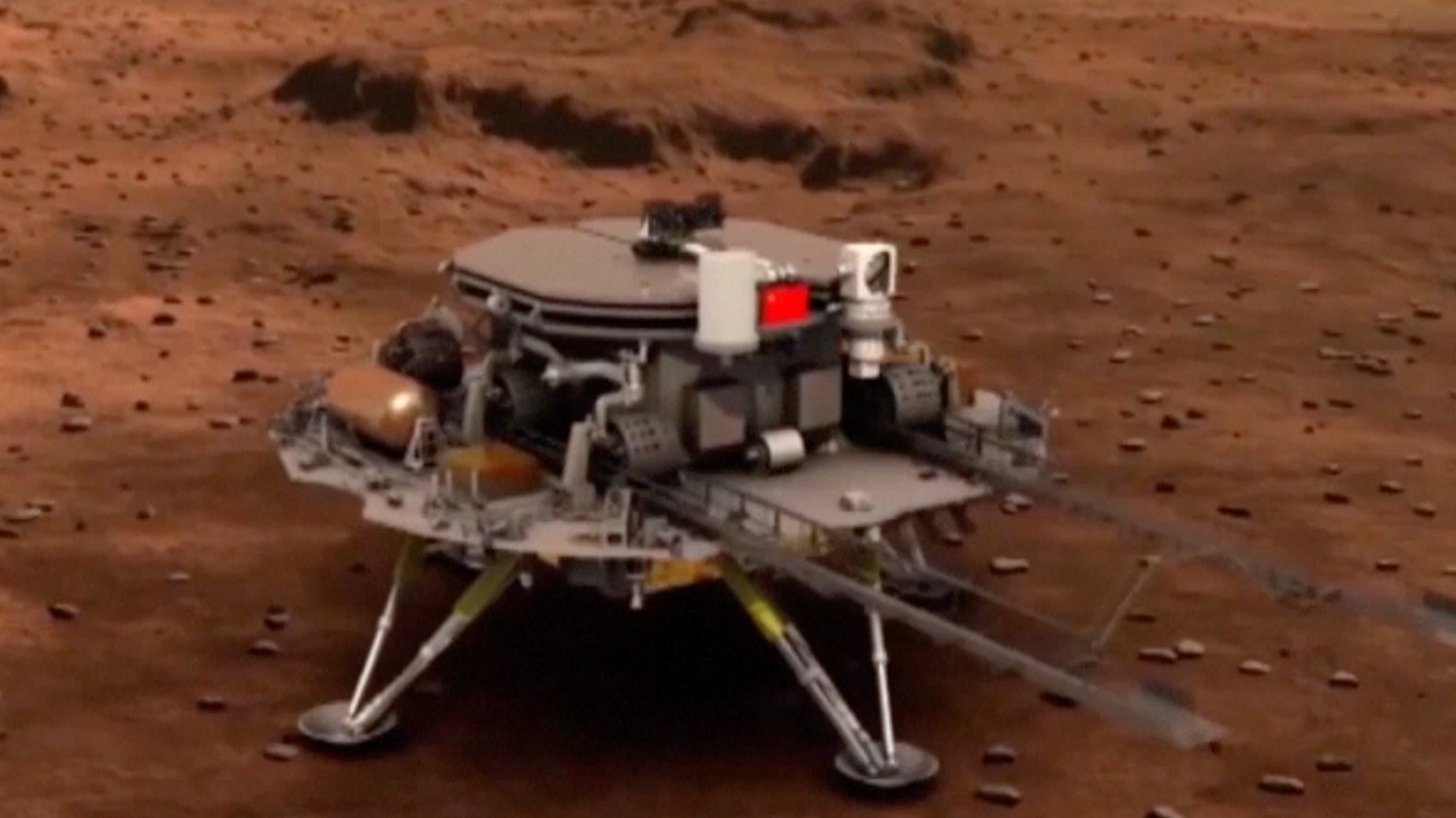 The China Mars mission the subject of how best to settle different planets