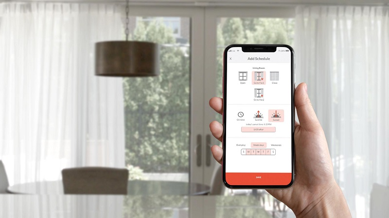 Neo Smart Blinds creates Kickstarter Campaign for Go Smart Curtains