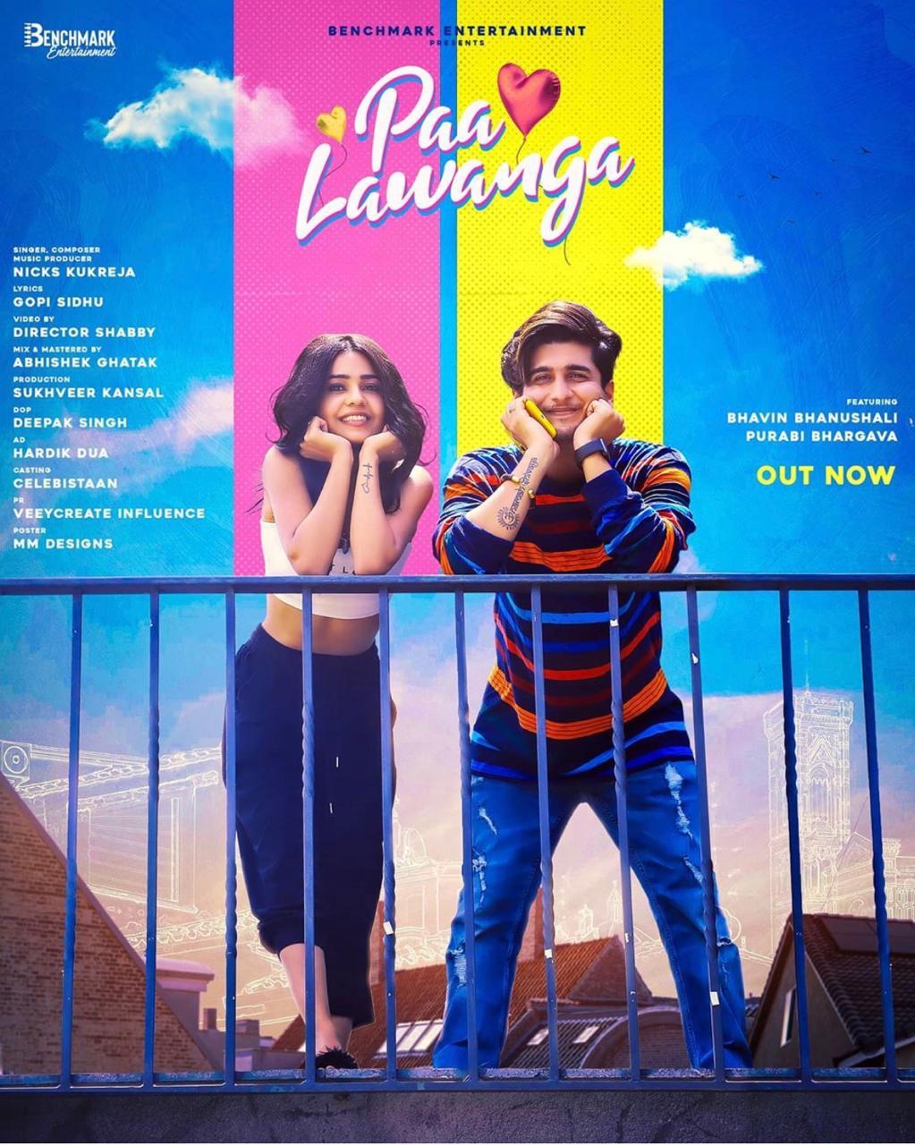 Benchmark Entertainment's Paa Lawanga starring Bhavin Bhanushali and Purabi Bhargava is here to win your hearts