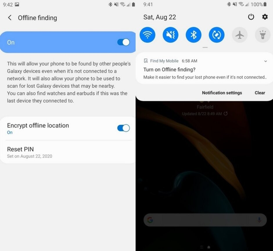 Locate My Mobile for Samsung Galaxy telephones refreshed with 'offline finding' features like iPhones