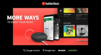 YouTube Music on Android TV gets 'application' for direct homescreen get to