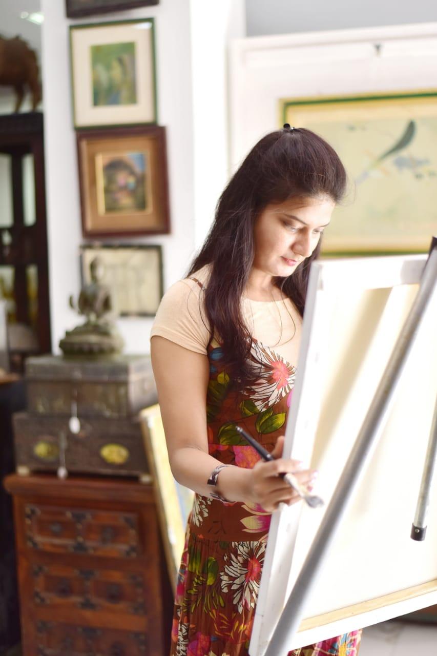RAKSHA RATHORE INTERNATIONAL PRIDE WOMAN MAKING HER MARK IN THE WORLD OF ART