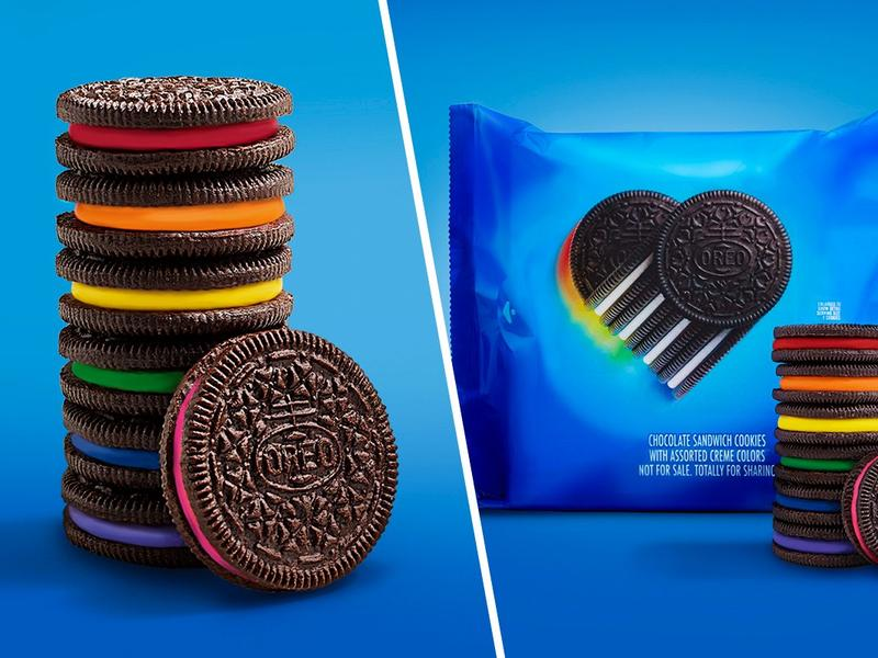 Oreo discharges restricted release rainbow cookie celebrating LGBTQ+ allyship