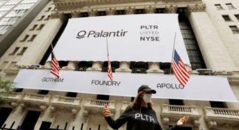 Palantir shares hop 30% in financial exchange first apperance