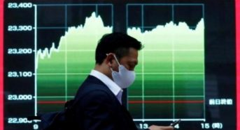 Asia shares almost three-year high, bonds see aid in U.S. impasse