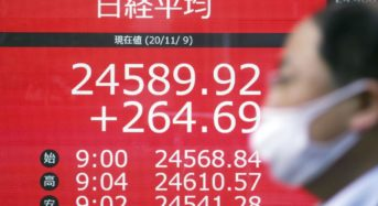 Asian stocks ascend for second day on Covid antibody trusts