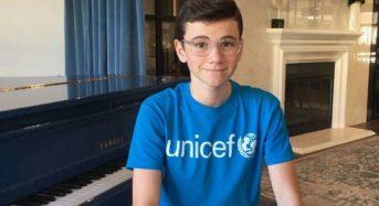 Alexander James Rodriguez Appeal for UNICEF USA