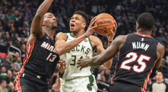 Milwaukee Bucks breaks single-game NBA record with 29 made 3-pointers in dominant win against Miami Heat