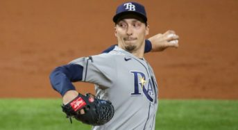 San Diego Padres acquire 2018 Cy Young Award winner Blake Snell from Tampa Bay Rays in five-player contract