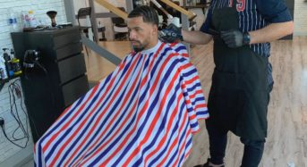 Captivating people with his haircutting and hairstyling services is the best Dubai hairstylist named Rabi The Barber.