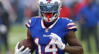 Stefon Diggs breaks Buffalo Bills' single-season receiving yards record
