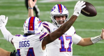 Josh Allen, Stefon Diggs take Buffalo Bills to 38-9 win over New England Patriots in Monday Night Football