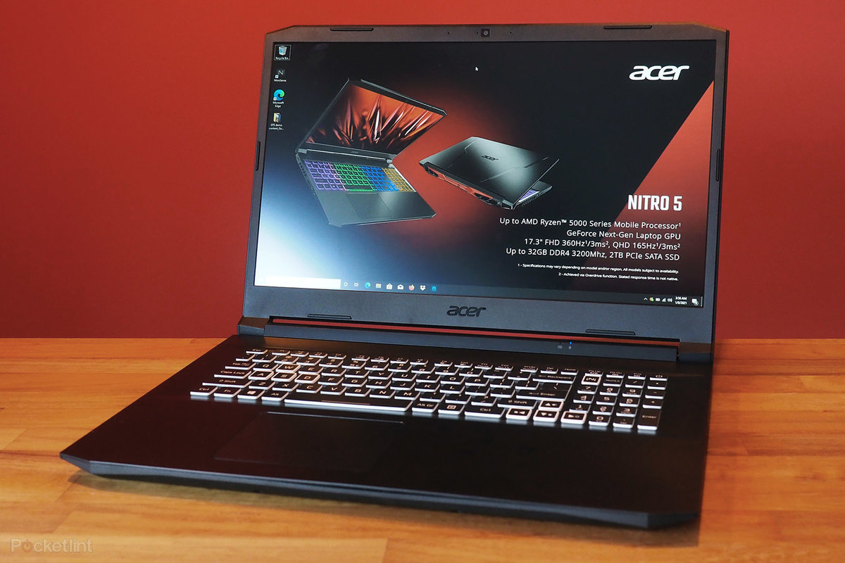 Acer has includes Ryzen 5000 CPUs to its Nitro 5 gaming notebook