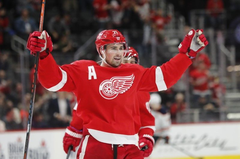 Detroit Red Wings name Dylan Larkin the team's 37th captain in franchise history